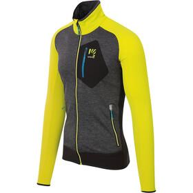 Karpos Odle Fleece Jacket Men sulphur spring/black